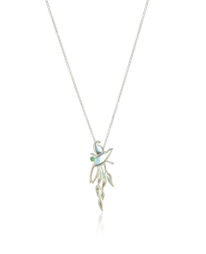 Birds of paradise necklace silver rubiwarren aloadofball Images