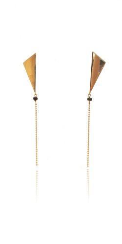 large triangle drop earrings web