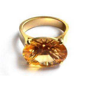 Citrine ring 1